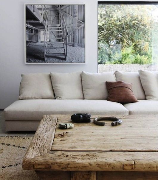 Love, except I can't stand it when couches don't have armrests!