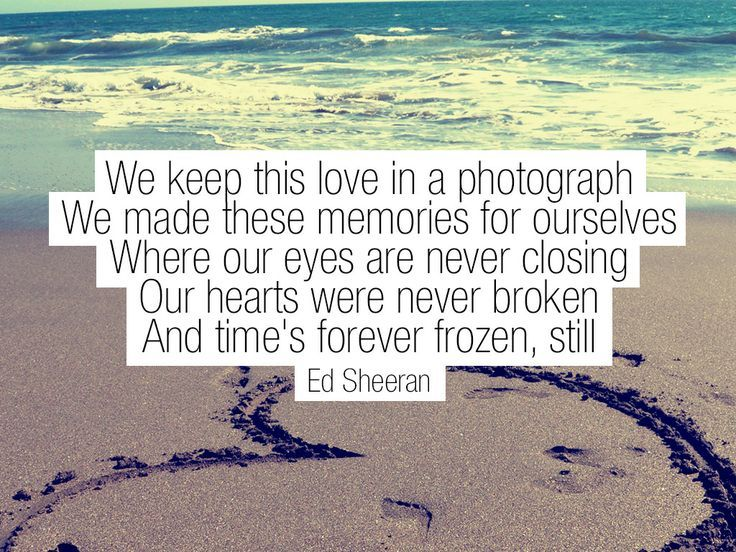 Lyrics Photograph Ed Sheeran