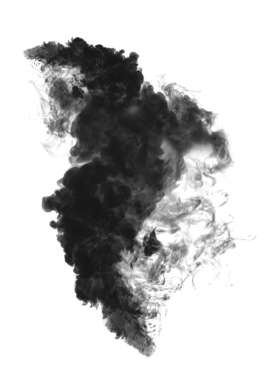 Black Smoke Effect Design Element On A White Background Premium Image By Rawpixel Com Tong In 2021 Design Element Black Smoke Smoke Vector