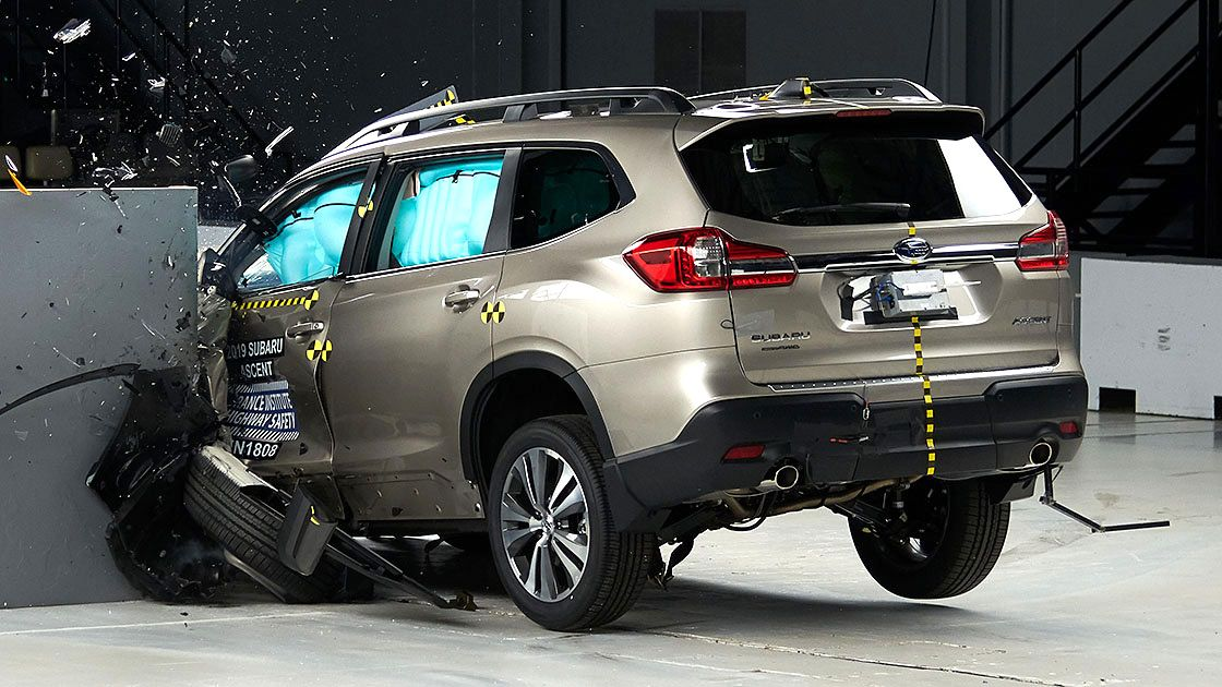 The All New 2019 Ascent Has Been Awarded Top Safety Honors The