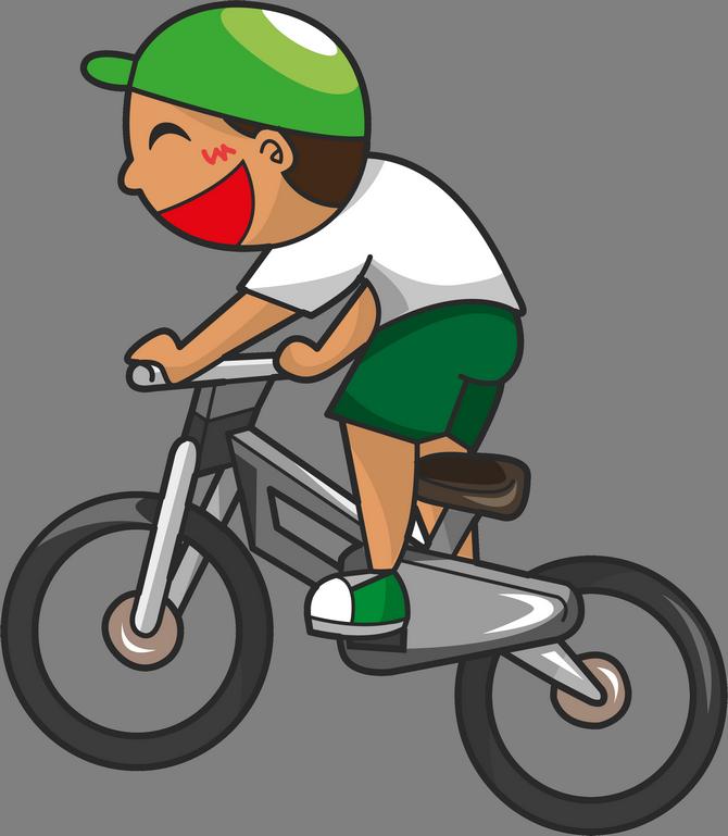 Картинки с велосипедистами нарисованные, пластилин