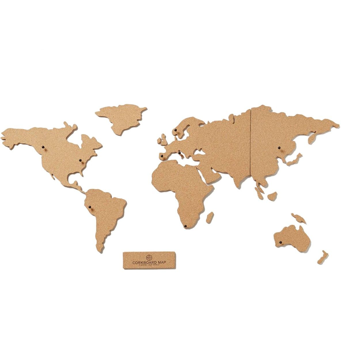 Build a version of the world the way you see it pin photos anthropologie corkboard map to help plan out a trip or hang some travel photos gumiabroncs Gallery