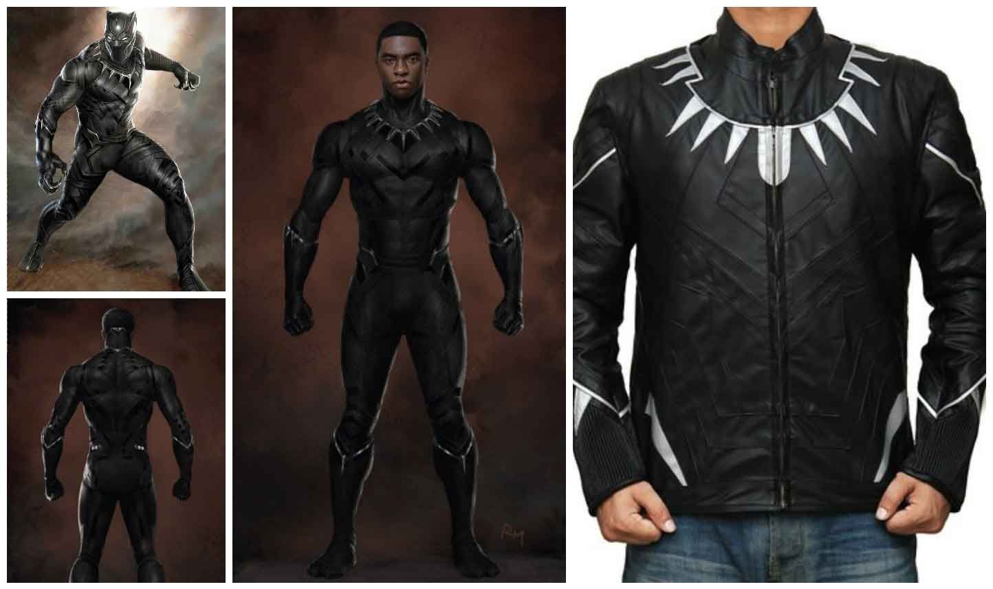 Marvel black panther halloween costume guide black panther black black panther jacket costume solutioingenieria Choice Image