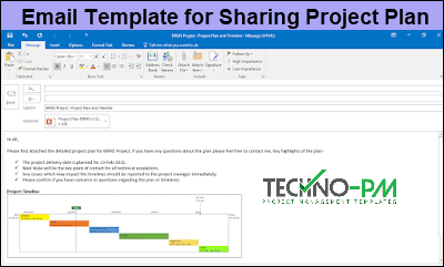 Outlook Email Template For Project Managers Email Templates Project Management Outlook Email