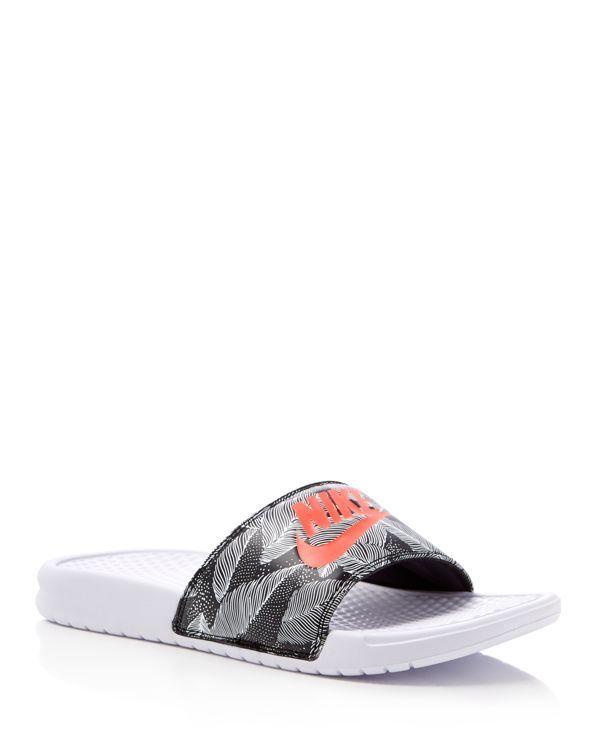 85bf30d3b24b Nike Benassi Jdi Print Slide Sandals