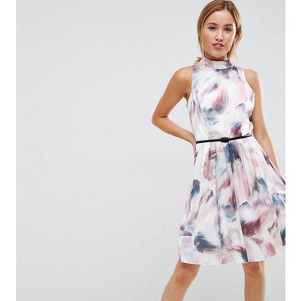 Prom Skater Dress In Print - Multi Little Mistress 3H3Ma