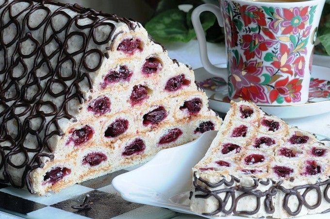 Торт «Монастырская изба»: рецепт с фото, как приготовить ...