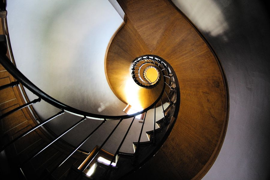 Spiral stairs by Brousmiche Thomas
