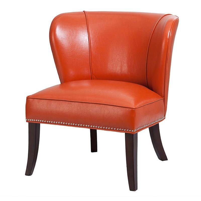 Admirable Madison Park Hilton Faux Leather Accent Chair Products Pdpeps Interior Chair Design Pdpepsorg