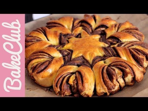 Braided NUTELLA Bread - einfach und schön - REZEPT | daaruum - YouTube #blätterteigrosenmitapfel