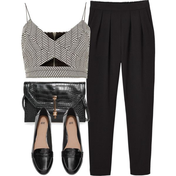 Untitled #3963 by laurenmboot on Polyvore featuring River Island, Monki, H&M and MANGO