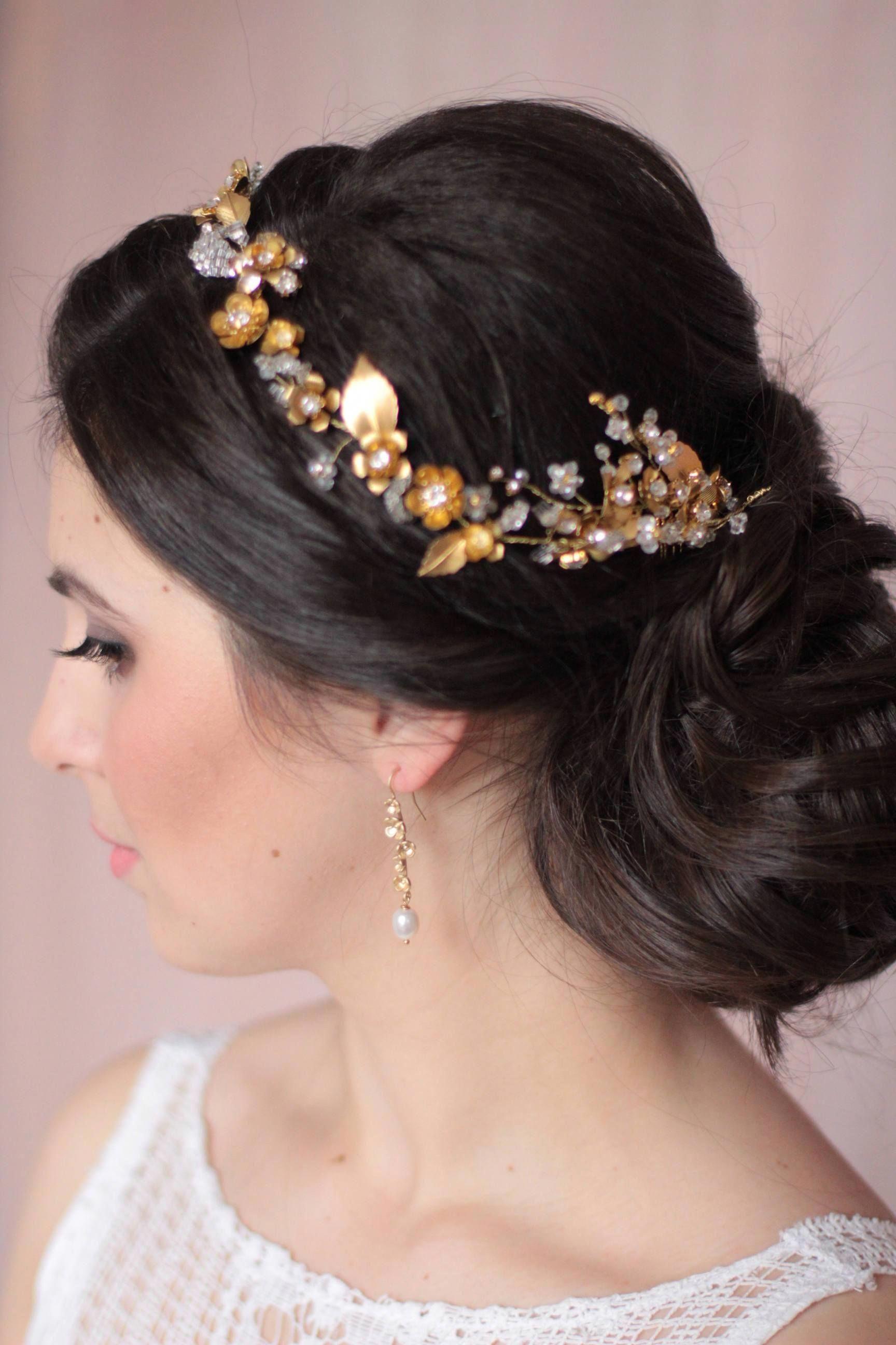 Wedding Jewelry Bridal Floral Earrings Matching Earrings