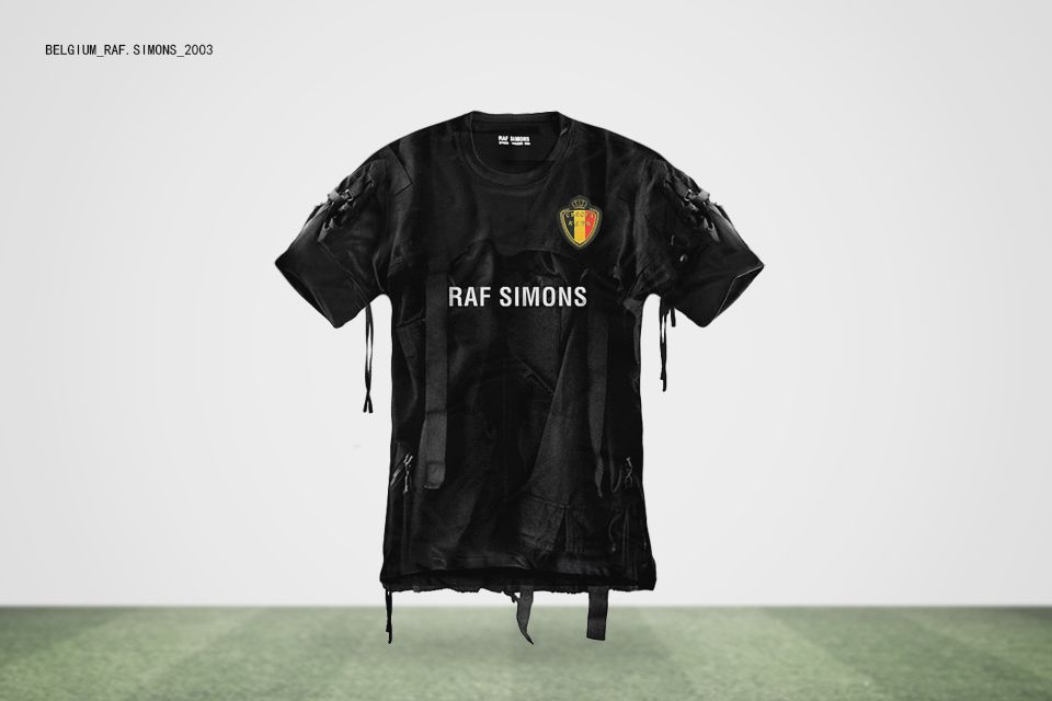 World Cup Jerseys Designed By Famous Fashion Designers Highsnobiety Fashion Designers Famous Famous Fashion Jersey Design