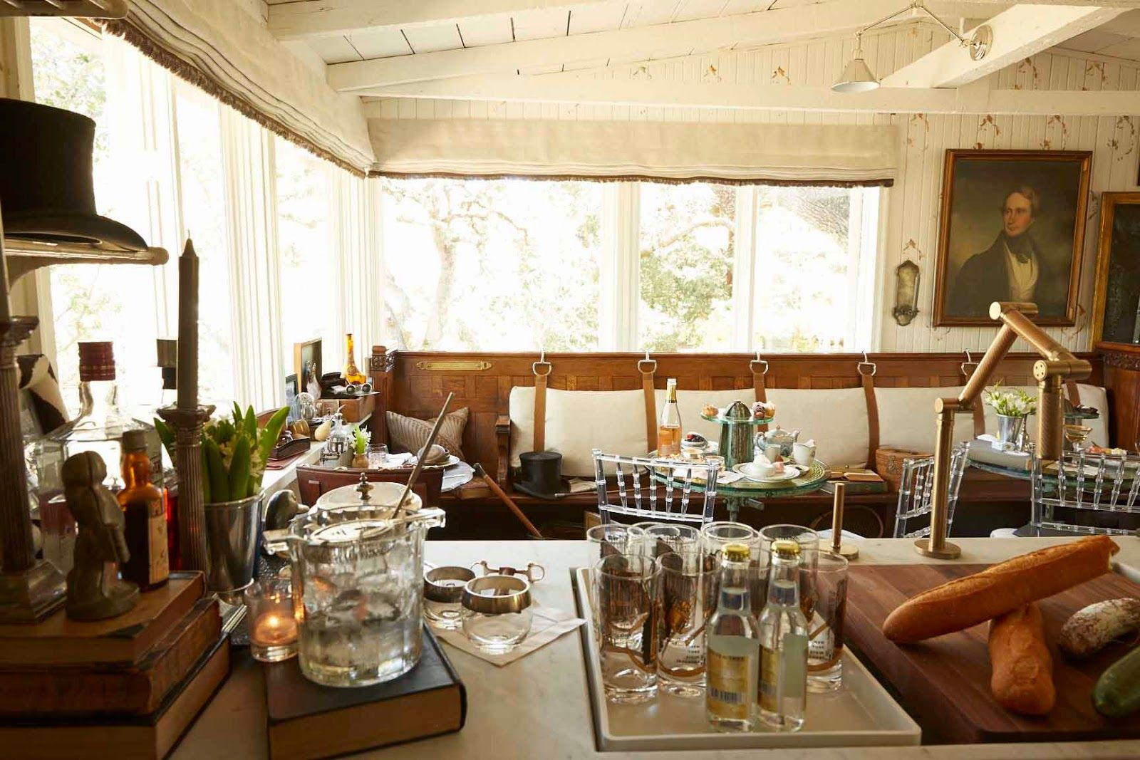 Great The Style Saloniste Positively British San Francisco Interior Designer Jonathan Rachman Transforms A Napa With Salon Style Colonial