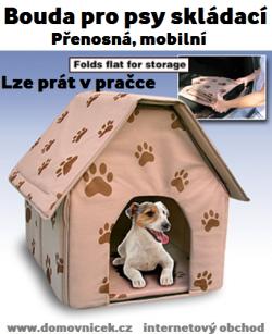 Bouda pro psy skládací Domovníček.cz Dog house, Indoor
