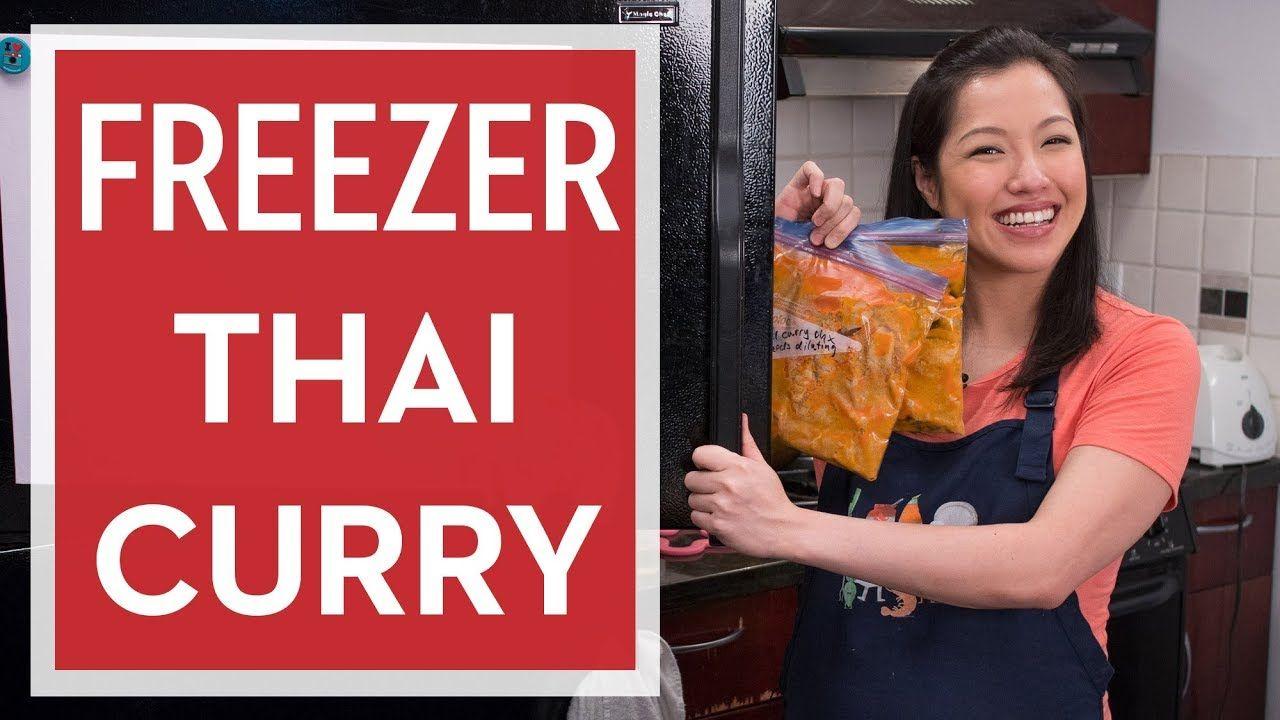 How To Make Space Saving Freezer Thai Curry Hot Thai Kitchen