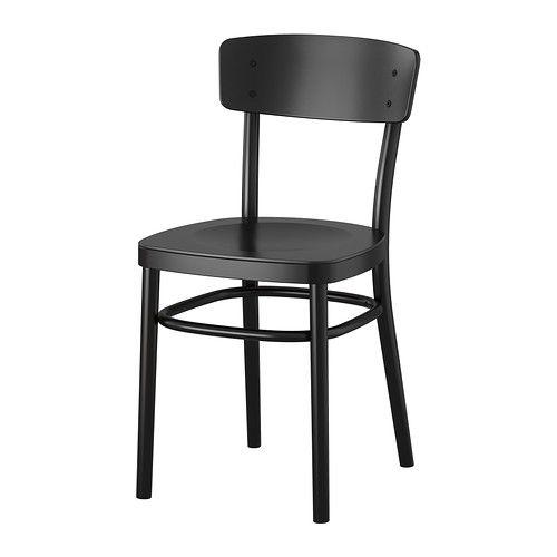 IDOLF 의자 IKEA 등받이가 곡선으로 이루어져 있어서 편안하게 앉을 수 있습니다.
