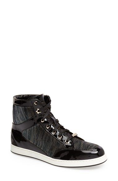 a9c71d8099b Jimmy Choo 'Tokyo' High Top Sneaker (Women) available at #Nordstrom ...