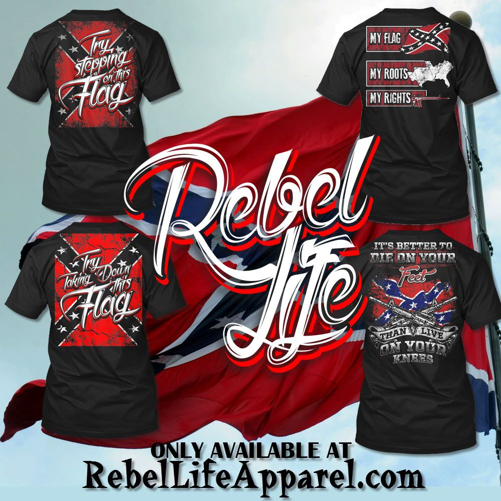 Pin On Rebel Flag Apparel Now Available