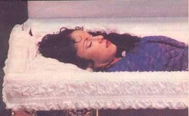 Selena Funeral Mortician Makeup And Embalming In 2019 Pinterest