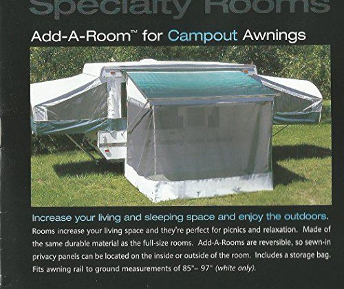 RV POP UP TRAILER AWNING SCREEN ADD A ROOM-NEW! FITS 7 ...