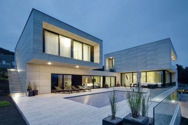 Villa Moderne villa moderne en république tcheque | maisons contemporaines