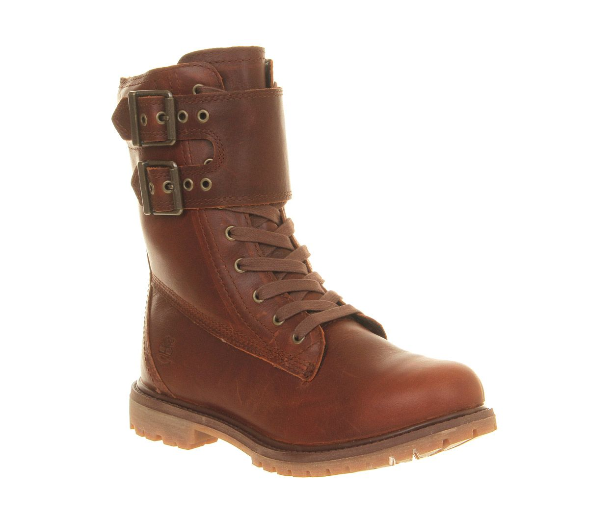 Timberland Premium 8 Inch Double Strap Boot Glazed Ginger