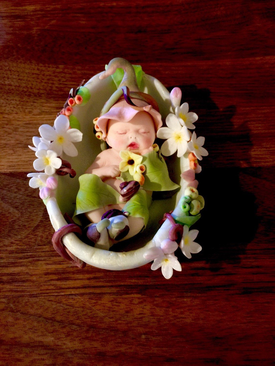 A personal favorite from my Etsy shop https://www.etsy.com/listing/246400296/baby-shower-cake-topper-gumpaste-baby