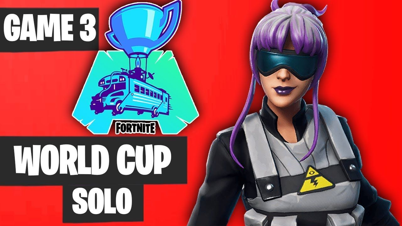 Fortnite World Cup Solo Game 3 Highlights Fortnite World Cup Highlights