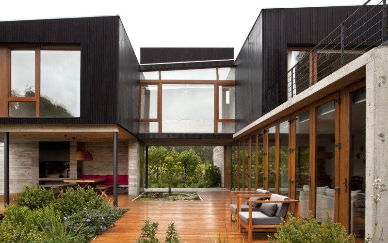 Quand lu0027extérieur su0027invite à lu0027intérieur Architecture, Breezeway - plan d interieur de maison