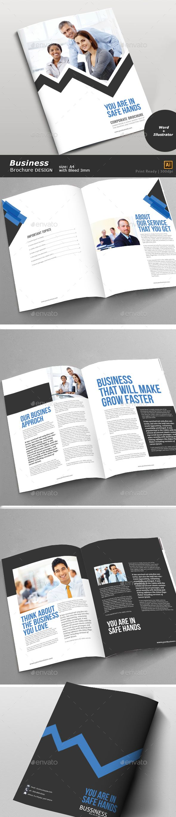 Business Brochure  Business Brochure Brochures And Template