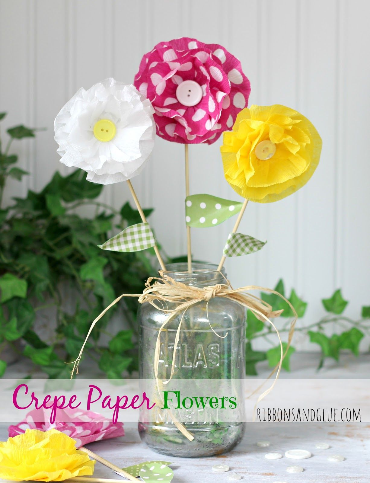 How To Make Crepe Paper Flowers Pinterest Crepe Paper Flowers