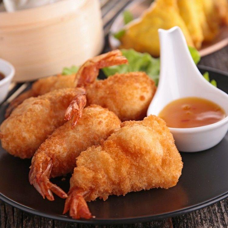 طريقة طبخ الجمبري بالكزبرة Recipe Food Seafood Meat