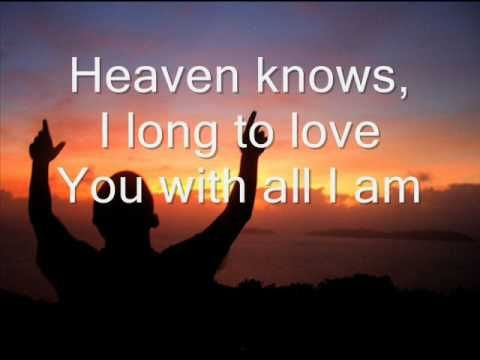Darlene Zschech (Hillsong) - To You - w/lyrics