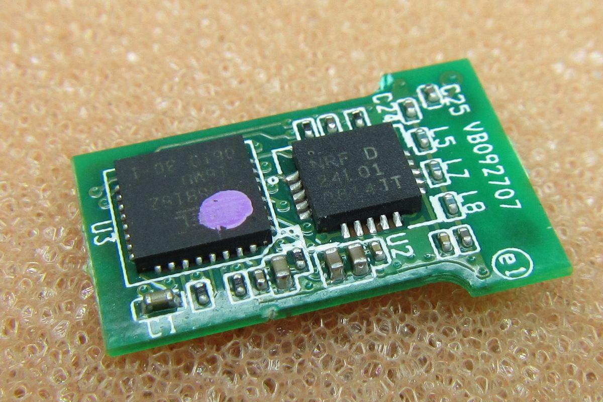 Logitech nano receiver teardown USB DONGLE Page 1 t