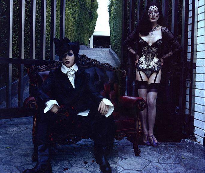 Marilyn Manson And Dita Von Teese Marilyn Manson Art Marilyn Manson Dita Von Teese