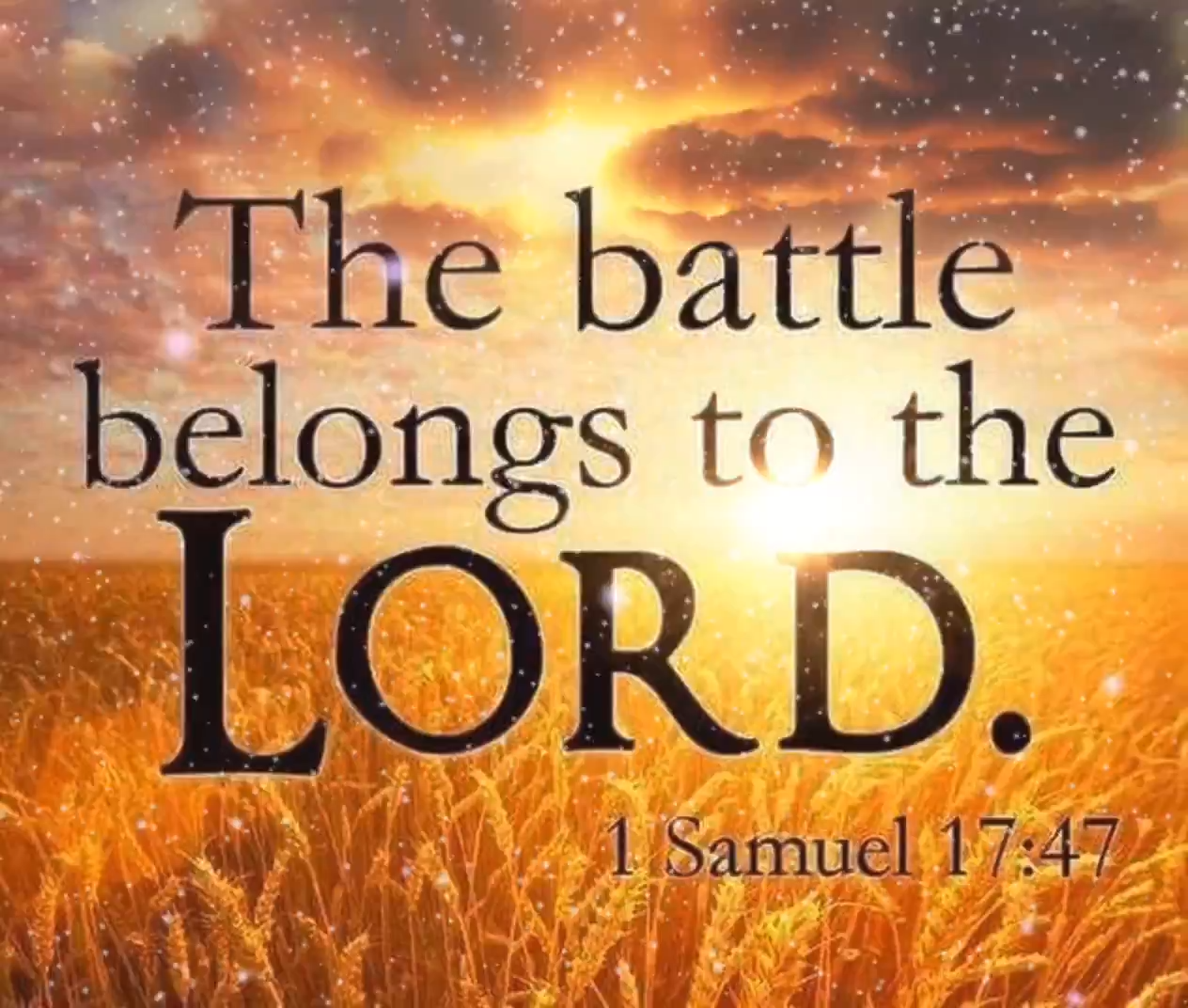 The battle belongs to the Lord. [Video] | Christian quotes inspirational, Christian inspirational words, Christian  quotes prayer