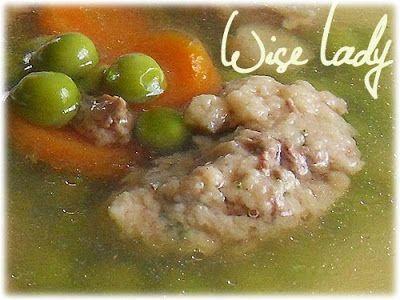 Hungarian Cook: Liver noodles (or liver dumplings) | soups ...