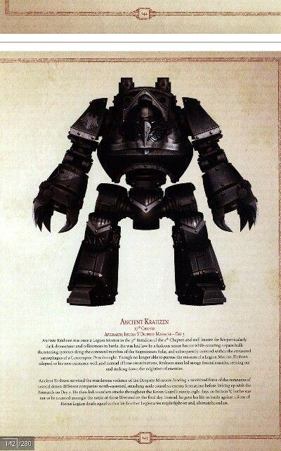 Raven Guard contemptor class dreadnought