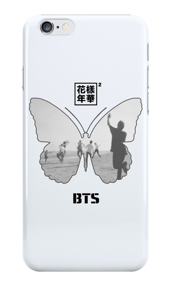 Butterfly Taehyung Bangtan Boys iphone case