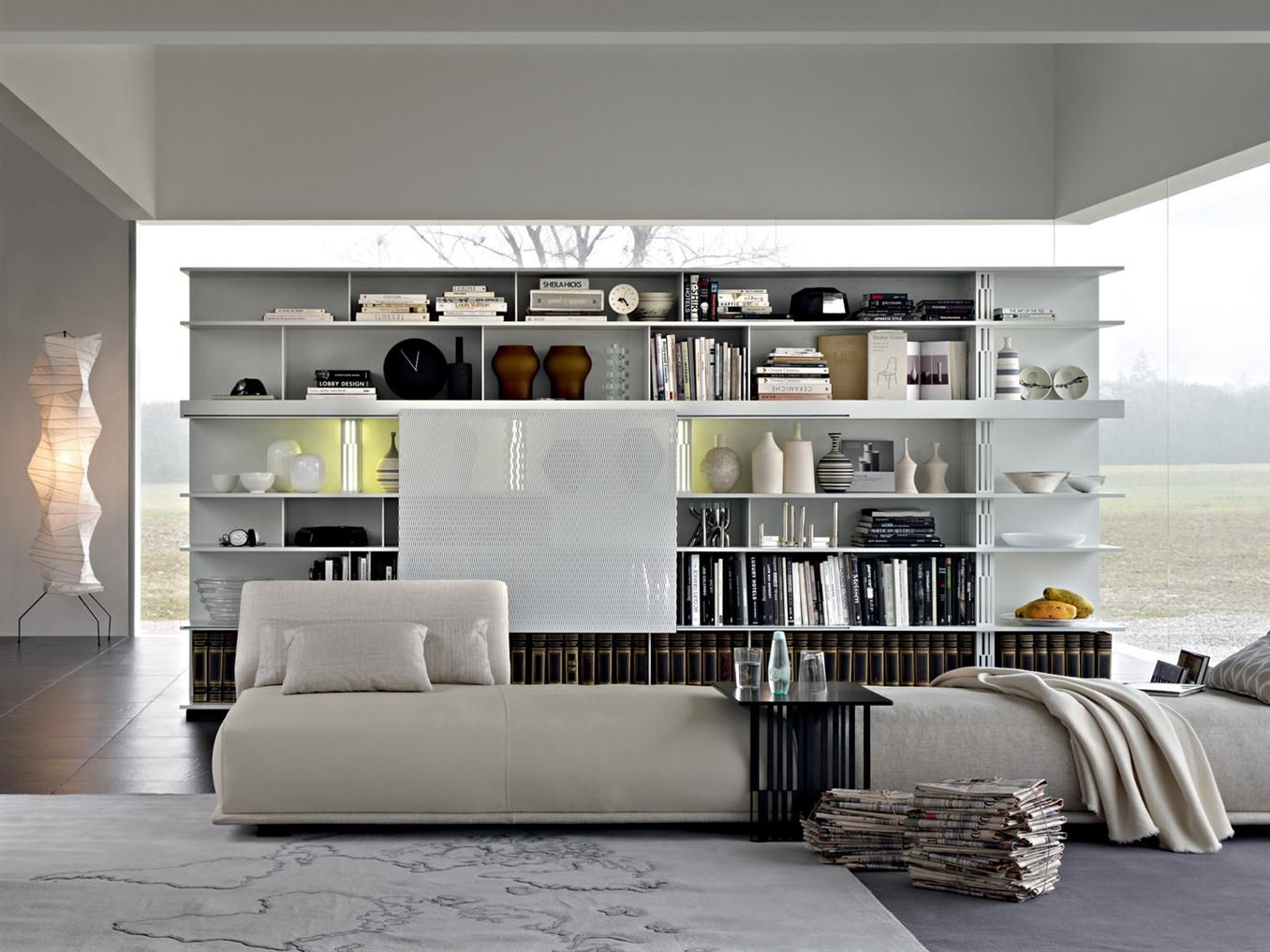 sequence di molteni & c | pareti e librerie - arredamento ... - Arredamento Design Living