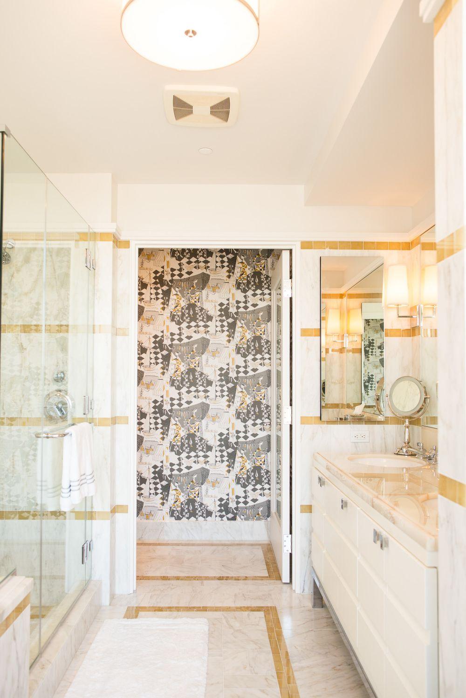 Decorative Accent Tiles For Bathroom The Century Master Bath Tile Detail  Tile Wall Stripes