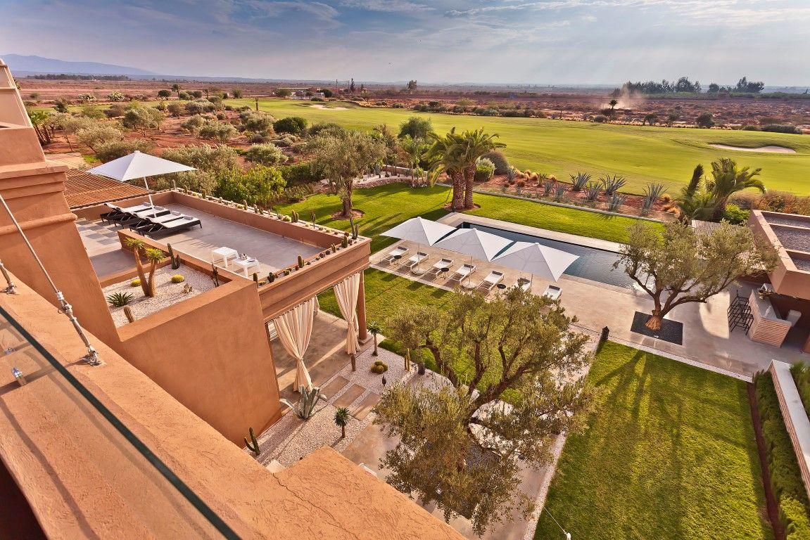 Villa a louer marrakech the only one est en premi re ligne - Location maison avec piscine marrakech ...