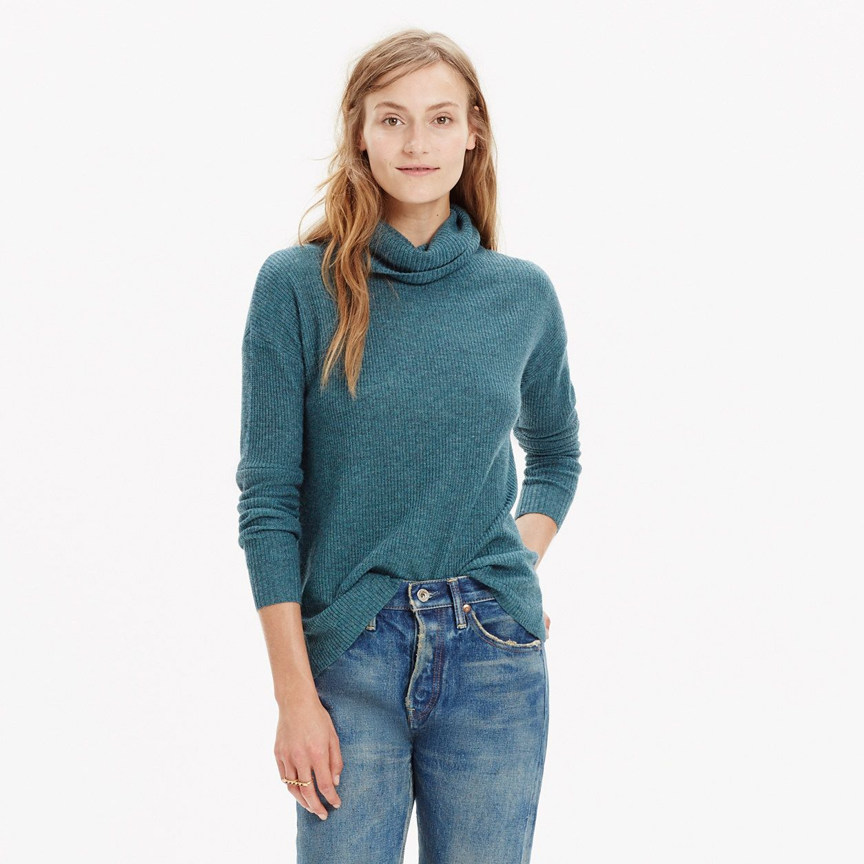 Ribbed Turtleneck Sweater : our current favorites | Madewell ...