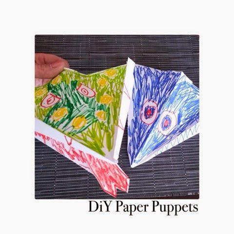 DiY Paper Puppets