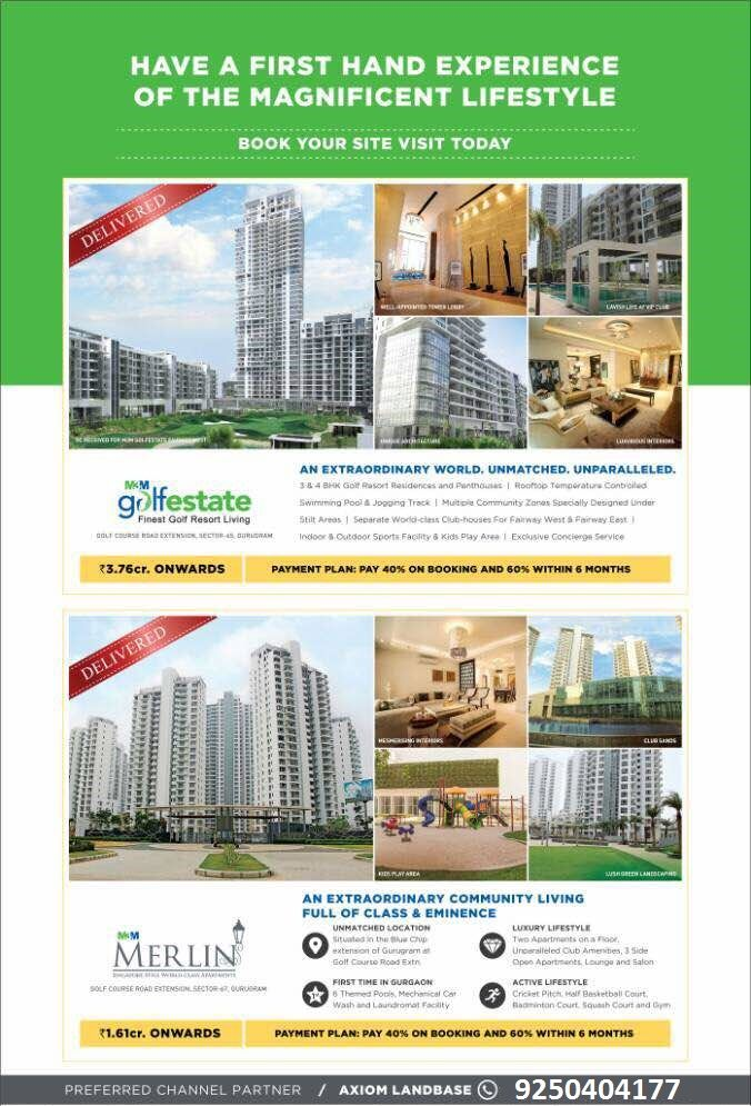 M3M group is a Renowned real estate developer with over 2000