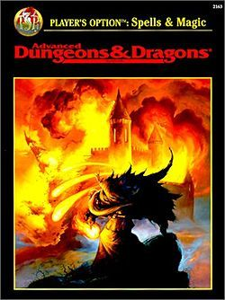 Ad D 2e Spells Magic Dungeons Dragons Books Advanced