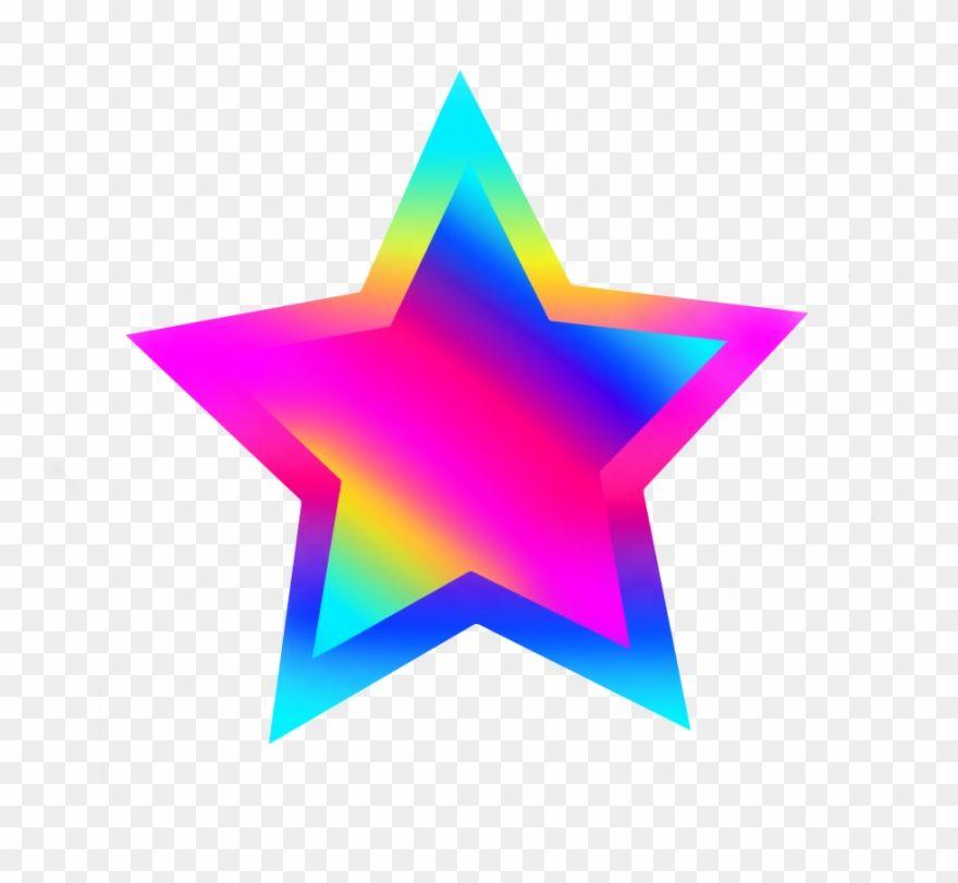 Freetoedit Stars Star Rainbow Png Colors Green Rainbow Colorful Stars Png Clipart Rainbow Png Clip Art Color