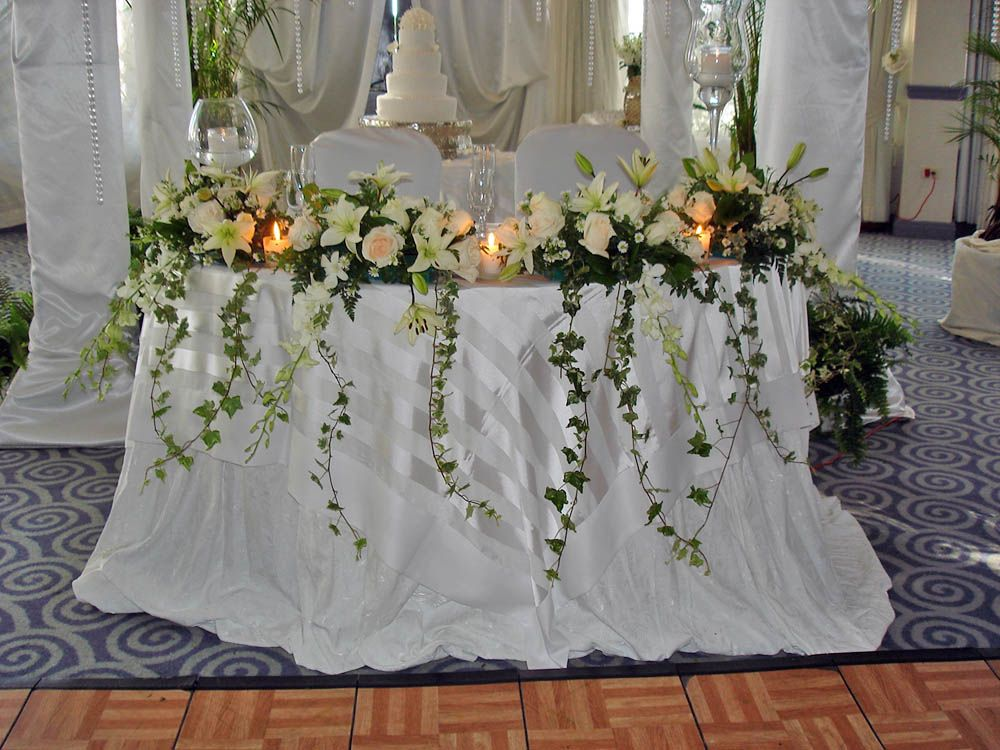 Mesa De Honor Con Cascada Weddings On Your Budget En 2019