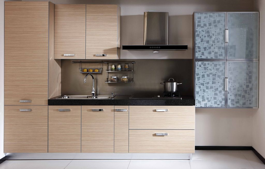 American Modern Cheap Pvc Kitchen Cabinets For Sale Kitchen In